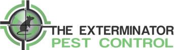 The Exterminator Pest Control Logo